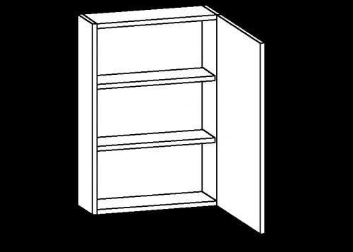 Single-door-two-shelved-column-front-wall-module-500x357